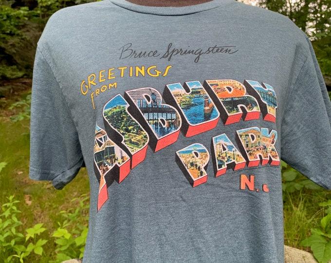 Bruce Springsteen Band Shirt (M)  New Jersey E Street Band Steven Van Zandt Steve Forbert Southside Johnny and The Asbury Jukes Asbury Park