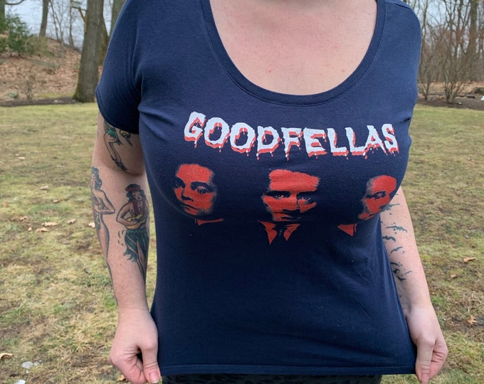Goodfellas Joe Pesci Tshirt Movies XS Ray Liotta Robert De Niro Casino TheGodfather The Sopranos Mob Mafia Donnie Brasco Al Capone Scarface