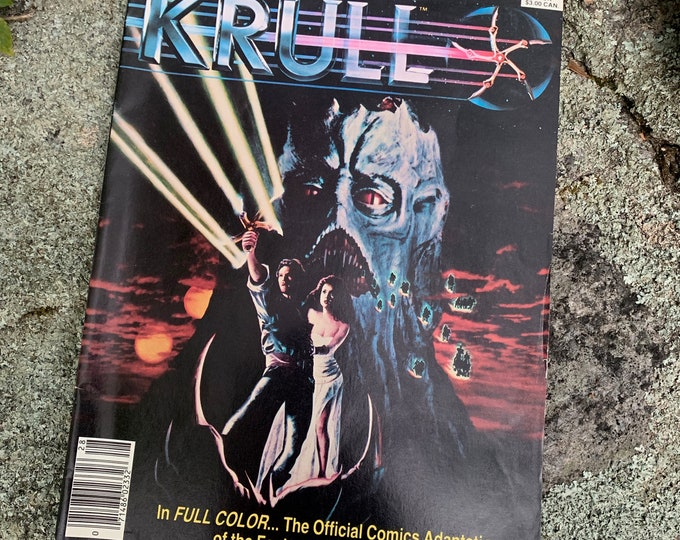 Vintage KRULL 1983 Marvel Comics Super Special #28 Masters Of The Universe He-Man She-Ra Transformers Grayskull Conan The Barbarian Darkman