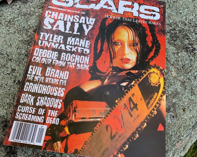 Scars Monsters Magazine Jan/Feb 2006 Chainsaw Sally Serial Killers Gore Slasher Hostel The Exorcist Witchcraft Satanic Halloween Monsters