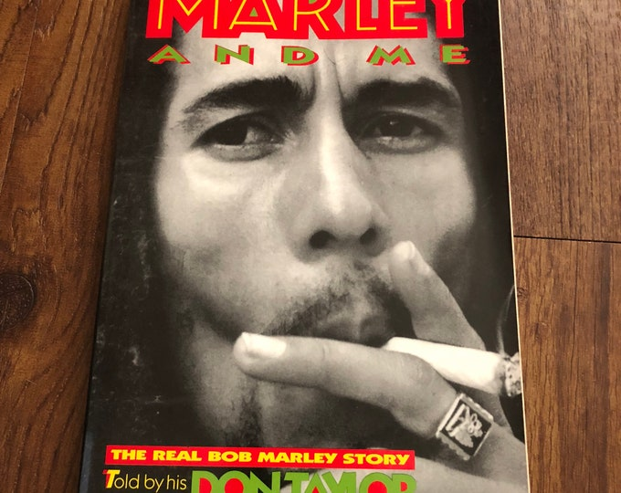 Vintage Bob Marley Softcover Book - 1995 -  Reggae Rastafari Zion Haile Selassie Marley and Me Dreadlocks Lion of Judah One Love The Wailers
