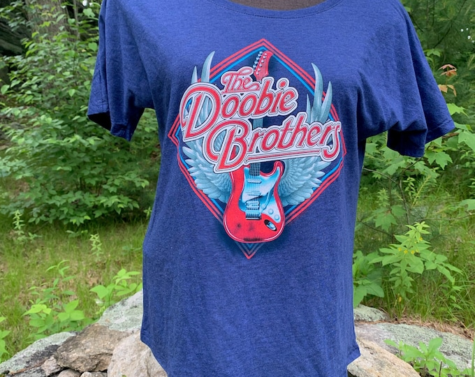 The Doobie Brothers Band Shirt (Ladies S) Soft Rock Michael McDonald Steely Dan John Fogerty Bad Company Peter Frampton Grand Funk ELO CCR