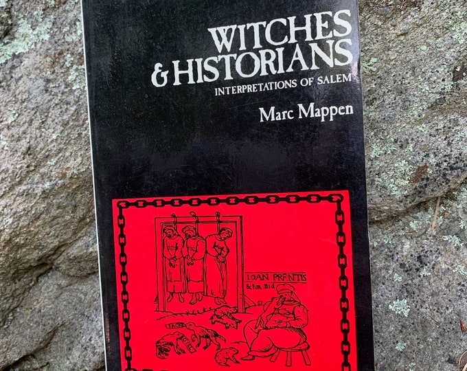 Witches & Historians Interpretations of Salem Salem Witch Trials Softcover Book Witch Witchcraft Coven Occult Massachusetts Witch Hunt Tarot