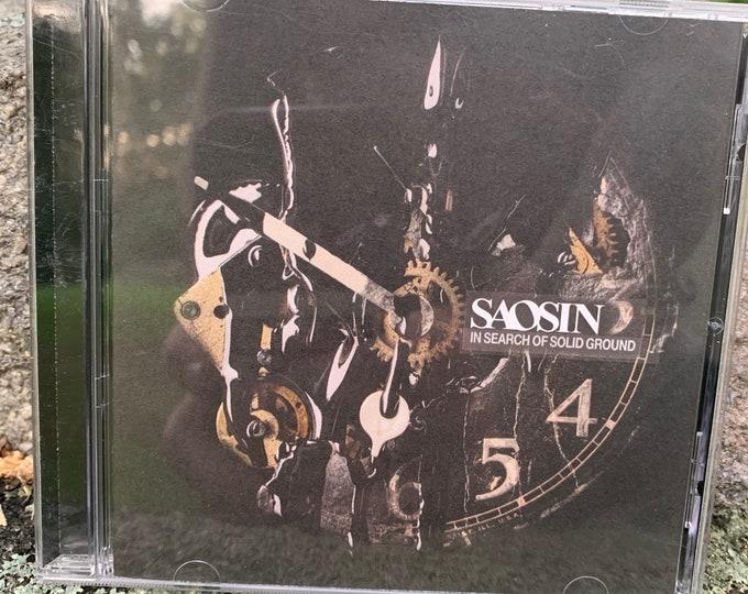 Saosin In Search Of Solid Ground CD Silverstein Taking Back Sunday Hawthorne Heights Underoath Unearth BlessTheFall New Found Glory Atreyu