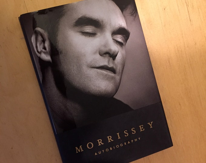 Morrissey The Smiths Hardcover Book - Autobiography Emo Goth Gothic Ian Curtis Paul Weller Joy Division Depeche Mode Echo and the Bunnymen