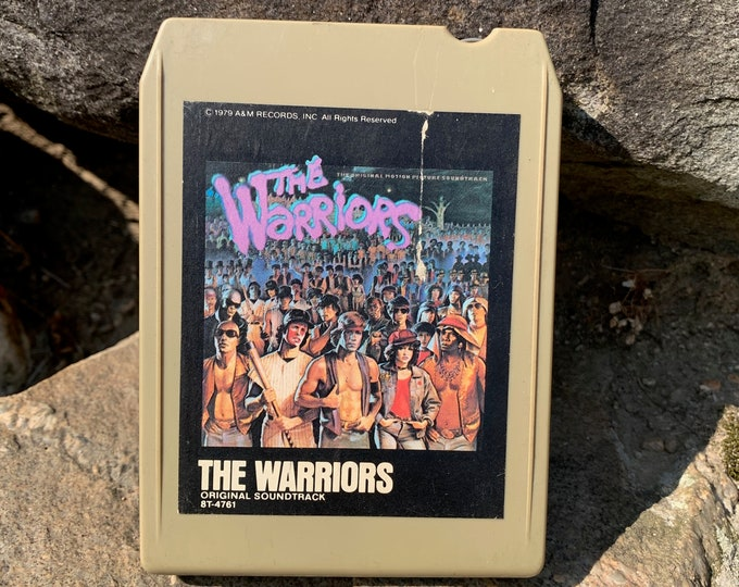 The Warriors Movie Soundtrack 8 Track Tape Joe Walsh Baseball Furies Coney Island Gangs Crime NYC NY Bronx Central Park Rumble Lizzies