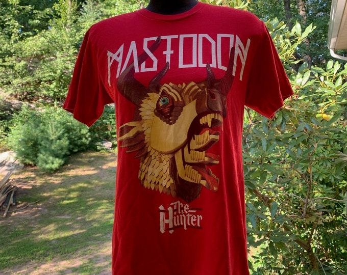 Mastodon Shirt (M) Amon Amarth Opeth Clutch Meshuggah Slayer Testament Gojira Arch Enemy Devin Townsend Baroness Dillinger Escape Plan Isis