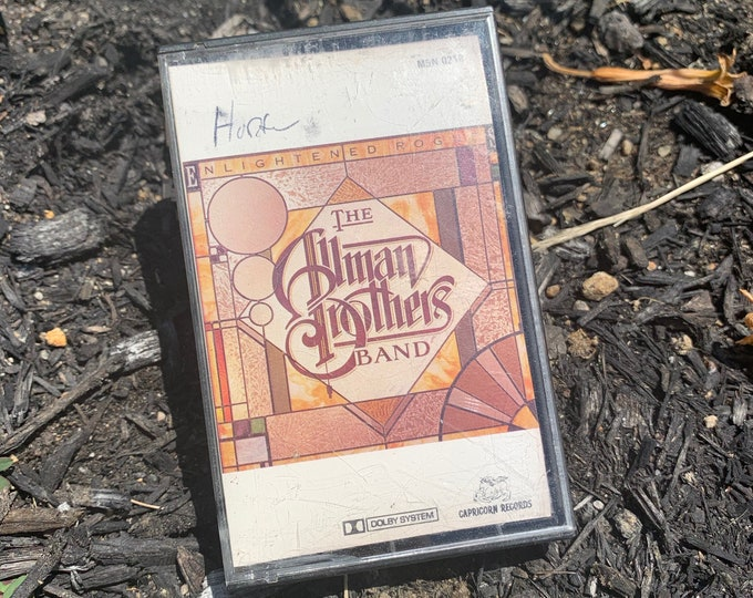 Vintage 1979 The Allman Brothers Band Enlightened Rogue Cassette Tape Joe Walsh Jackson Browne Bob Seger Creedence Clearwater Revival CCR