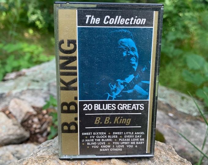 B B King 20 Blues Greats Cassette Tape Muddy Waters Willie Dixon Robert Johnson Buddy Guy Blues Leadbelly John Lee Hooker Bobby Blues Bland