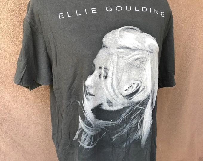 Ellie Goulding - 2013 Halcyon Tour Shirt -XL - Indie -Divergent Band shirt  Band Tee Taylor Swift Rihanna Katy Perry Nicki  Minaj  Adele