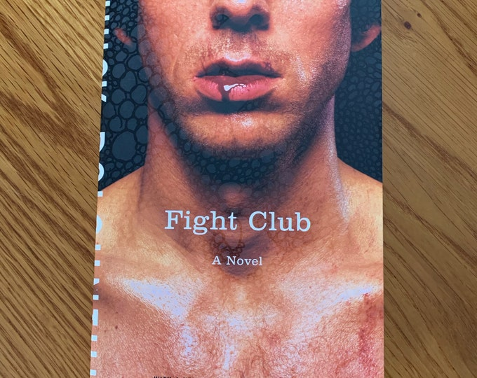 FIGHT CLUB Novel by Chuck Palahniuk Softcover Book Jack Kerouac Tom Waits Henry Miller Ernest Hemingway Walt Whitman Charles Baudelaire
