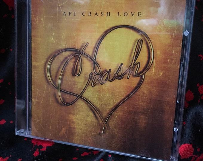 AFI CD Crash Love Davey Havok My Chemical Romance Taking Back Sunday Jimmy Eat World New Found Glory Fall Out Boy Alkaline Trio  The Used