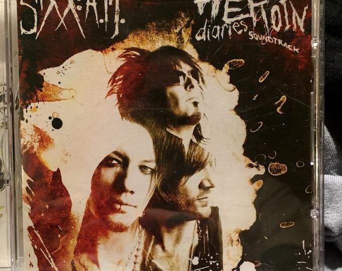Sixx AM Heroin Diaries  CD  Nikki Sixx Motley Crue DJ Ashba Herion Diaries Metalhead Metal rocknroll  Cds