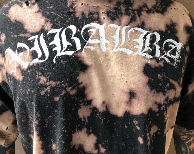 Distressed Xibalba Band shirt XXL  Djent Metalcore Deathcore Band Tee Southern Lord False Idol Harms Way TrappedunderIce Disembodied Avzhia