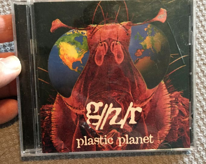 GZR Geezer Butler  Plastic Planet CD  Black Sabbath Metal CDs HeavyMetal ThrashMetal Mortal Kombat Black Sabbath Metalhead