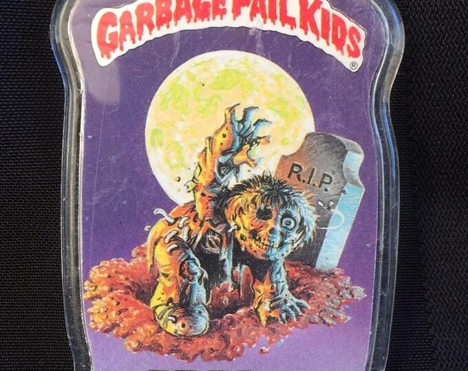 1986 Garbage Pail Kids Topps Pin Badge - Fresh! - Gross Yuck 80s Gag Gift Funny  GPK