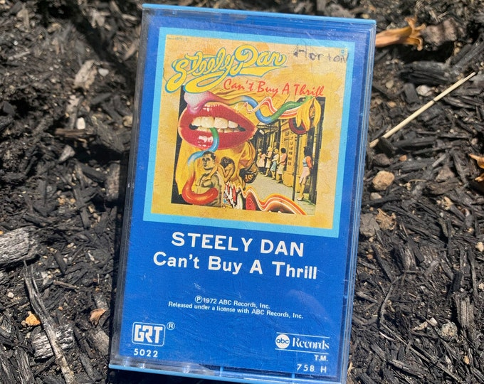 Vintage 1972 Steely Dan Can't Buy A Thrill Cassette Tape Donald Fagan Boz Scaggs Browne Bob Seger Creedence Clearwater Revival Todd Rundgren