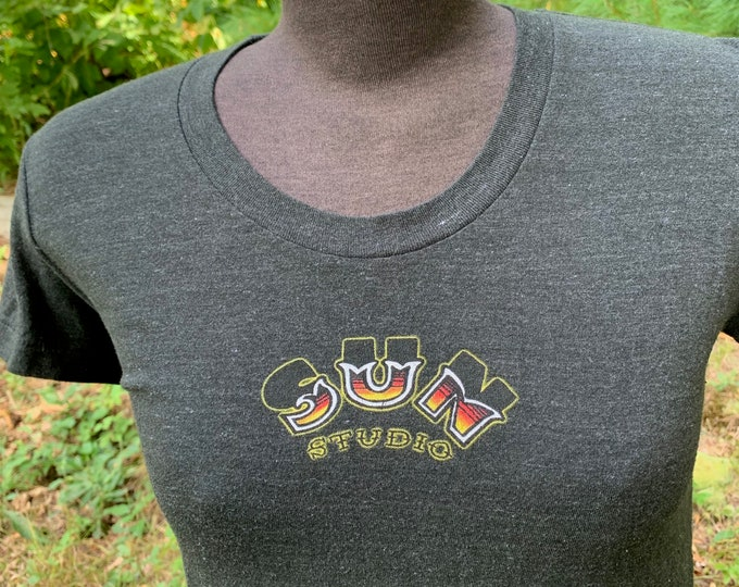 Sun Records (Ladies M) T Shirt Rockabilly Oldies Memphis Tennessee Country Music Ike Turner BB King Little Milton Conway Twitty James Cotton