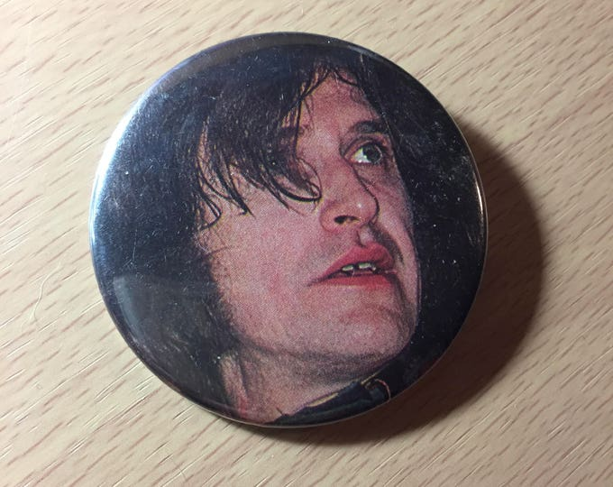 Ray Davies   Pin  Badge The Kinks British Invasion the who the beatles UK Lola button rocknroll music collectibles memoribilia