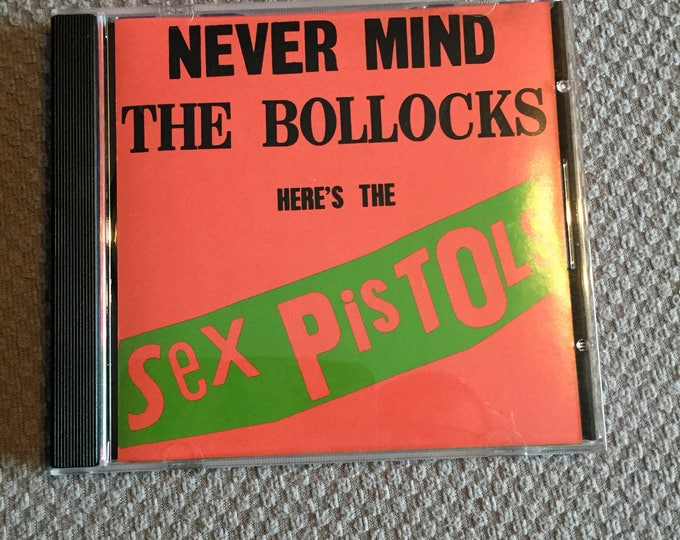 Sex Pistols Never mind the Bollocks CD  Punk Johnny Rotten Glen Matlock Paul Cook Steve Jones Anarchy in the UK Sid Vicious Punkrock punks