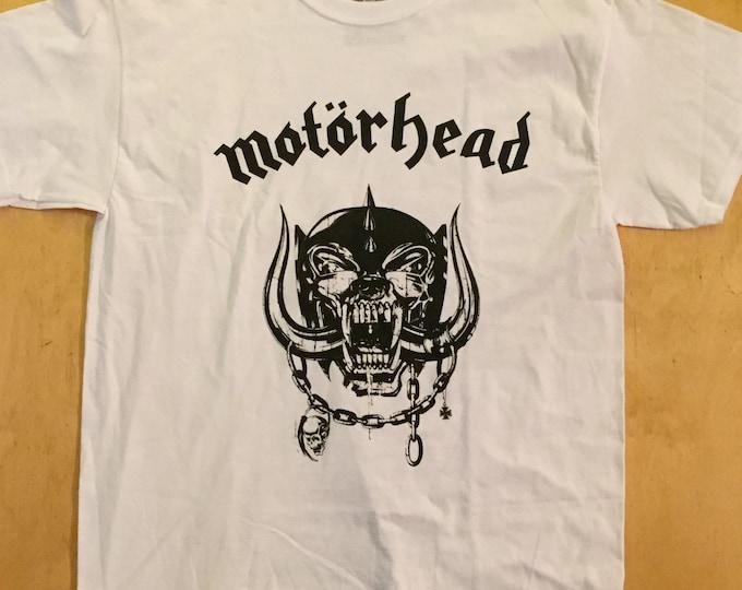 MOTORHEAD Heavy Metal Band Shirt (Large)  Lemmy Ace of Spades Lemmy Kilmister Heavy metal Hard rock Speed metal Band Tee  Punk Punkrock