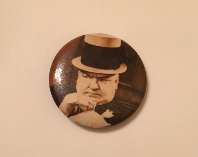 WC Fields   Pin  Badge Comedy comedian vaudeville history classic movies mae west little chickadee