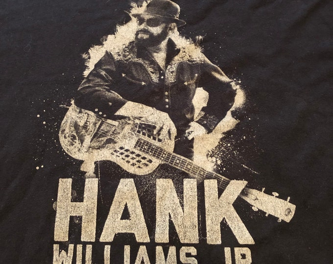 Hank Williams Jr (XXL) Country Willie Nelson Band Tee Country Music cma Johnny Cash Kris Kristofferson Tanya Tucker Randy Travis Kid Rock