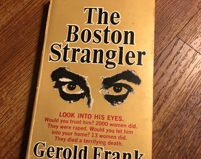 VINTAGE 1971 The Boston Strangler Softcover Book Albert DeSalvo Serial Killers TrueCrime Crime Homicide Ted Bundy John Wayne Gacy Boston