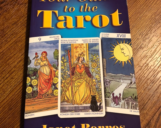 Your Guide To Tarot 2008 Softcover Book Witch Horror Occult Palm Reading Psychic Gypsy Crystals Tarot Cards Tarot Reading Witchcraft Coven
