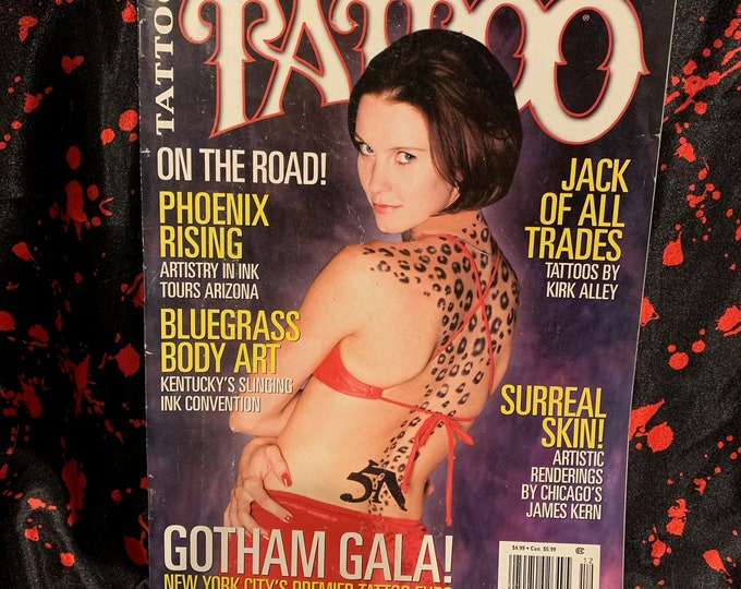 Vintage Tattoo Magazine ~ World's Largest Selling Tattoo Magazine ~ December 1998  Tattoos Inked Tattooist Tattooer Tattoo Shop Tattooing