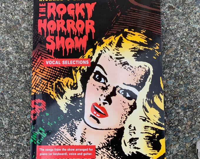 Rocky Horror Picture Show Sheet Music Tabs RHPS Voice Piano Guitar Tim Curry Cult Classic Richard OBrien Time Warp Frank N Furter LBGT