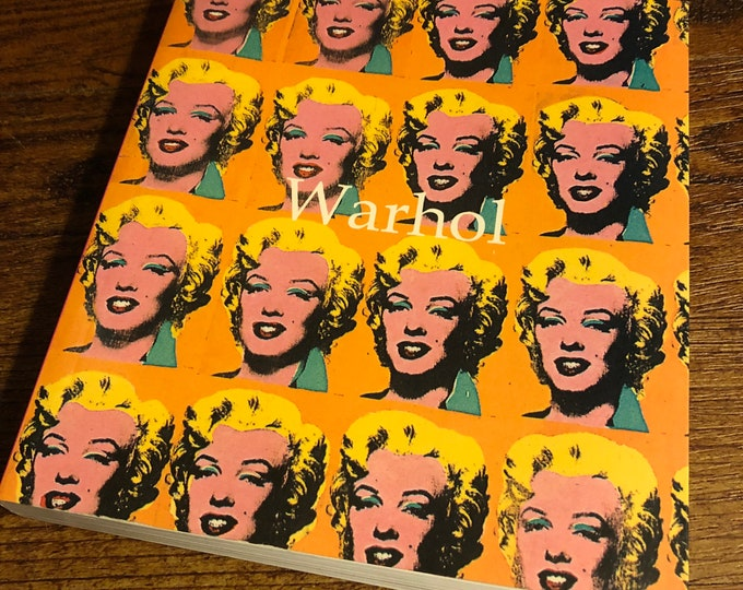 Andy Warhol 2004 Art Softcover Book Velvet Underground Lou Reed Edie Sedgwick Allen Ginsberg CBGB Jim Morrison David Bowie Marlilyn Monroe