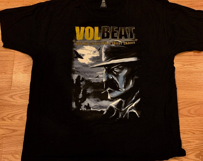 Volbeat Denmark TShirt Band Shirt ( XXL ) Godsmack Danko Jones Avenged Sevenfold FFDP Anthrax Shinedown Gojira King Diamond Airbourne BFMV