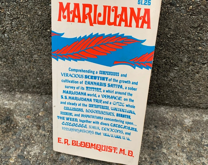 RARE VINTAGE 1968 The Dope Chronicles Softcover Book Sex Drugs Art Marijuana Opium 420 LSD Morphine Reefer Madness Cocaine Medical Rehab Pot