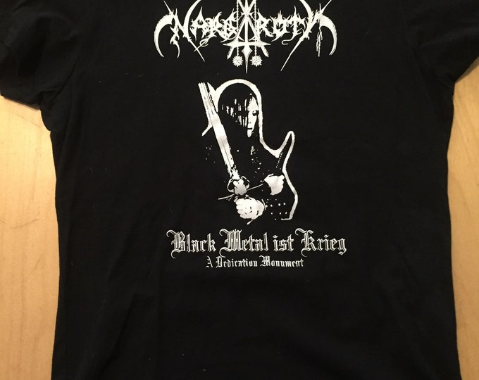 Nargaroth  Black Metal ist Krieg German Black Metal Ladies Tee Band Shirt Rock Tee Death Metal Germany Mosh Pit Doom Stoner Thrash metalhead
