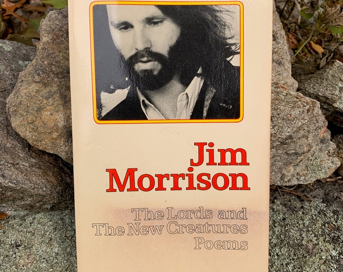 Vintage Jim Morrison Softcover Book 1971 Rare Cover The Doors Poet Poetry Bob Dylan Jim Carroll Books Oscar Wilde Patti Smith Poems Sexy