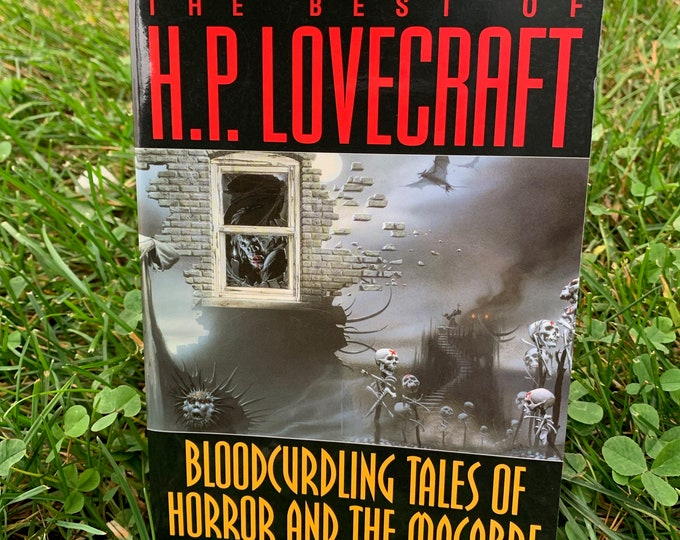 HP Lovecraft Paperback Book 1982 I am Providence Horror Edgar Allan Poe Stephen King Horror Dagon Ghosts Monsters The Call of Cthulhu Terror