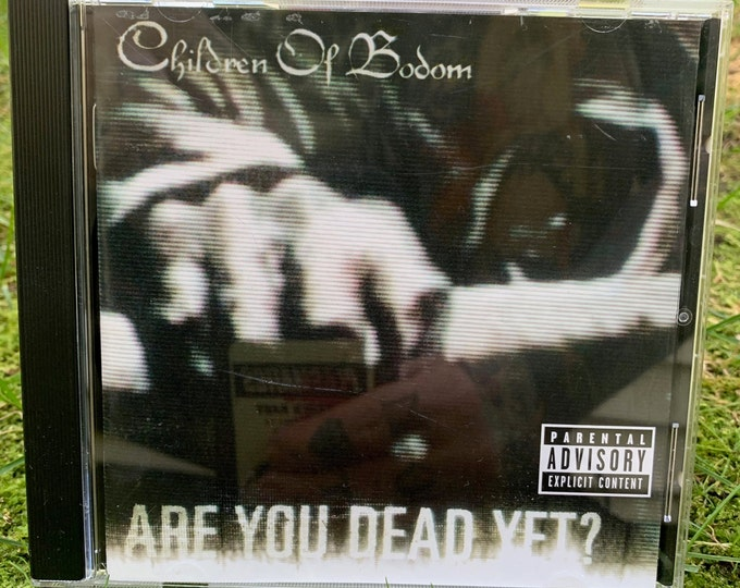 Children Of Bodom Are You Dead Yet CD Alexi Laiho Metalcore COBHC Veil of Maya Whitechapel  Killswitch Engage As I lay Dying Arch Enemy