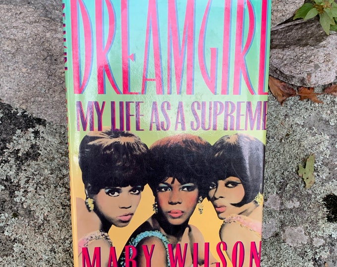 Mary Wilson Hardcover Book The Supremes Motown Diana Ross Berry Gordy Stevie Wonder Marvin Gaye Temptations Martha Reeves Tammy Terrell Soul