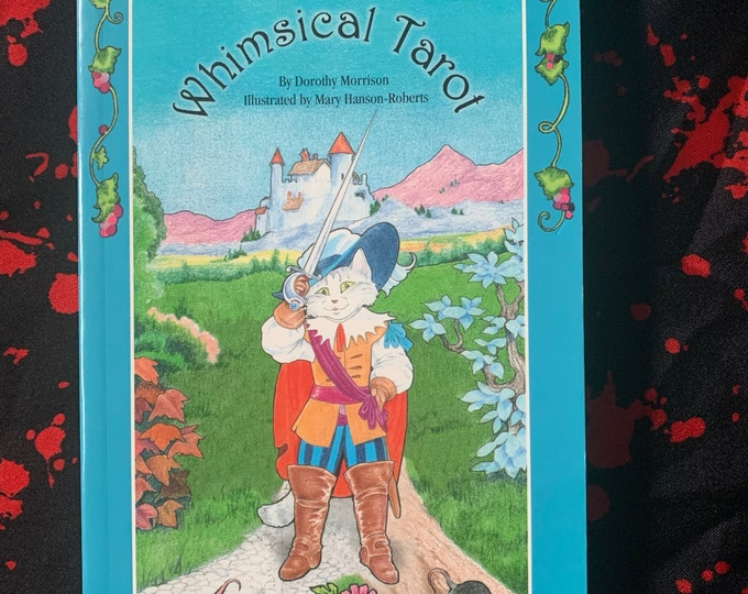Whimsical Tarot Softcover Book - Witch Horror Occult Palm Reading Psychic Gypsy Crystal Ball Tarot Cards Tarot Reading Gypsy Crystal Ball