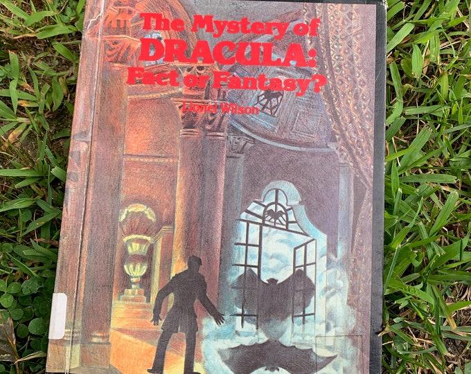 Vintage 1979  Mystery of Dracula Fact or Fiction Hardcover Book Horror Nosferatu Vampire Frankenstein Boris Karloff Lon Chaney Bela Lugosi