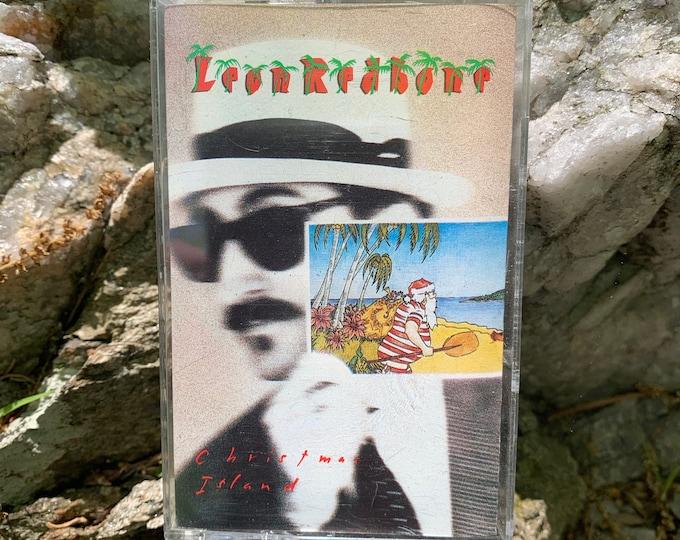 Leon Redbone Christmas Island Cassette Tape Ry Cooder Leo Kottke Mose Allison Mississippi John Hurt Taj Mahal David Bromberg Dr John Jazz