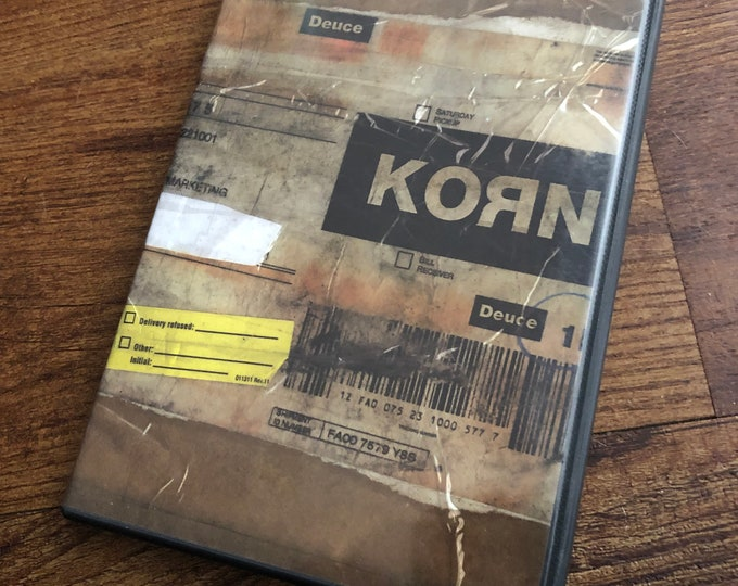 Korn Deuce DVD Metal Industrial Nu Metal Rap Rock Jonathan Davis Metalhead raprock rapmetal RATM ffdp Sepultura Black Sabbath Papa Roach