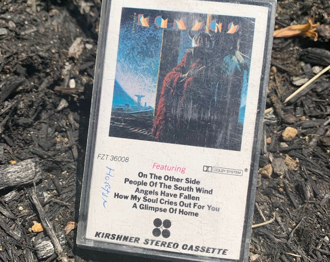 Vintage 1979 Kansas Monolith Cassette Tape Journey Styx Browne Bob Seger Peter Frampton ELO Bruce Springsteen Pete Townshend Uriah Heep