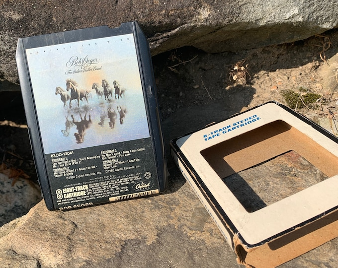 Bob Seger Against The Wind 8 Track Tape Johnny Cash Neil Young Van Morrison John Mellencamp Traveling Wilburys Tom Petty Ted Nugent Eagles