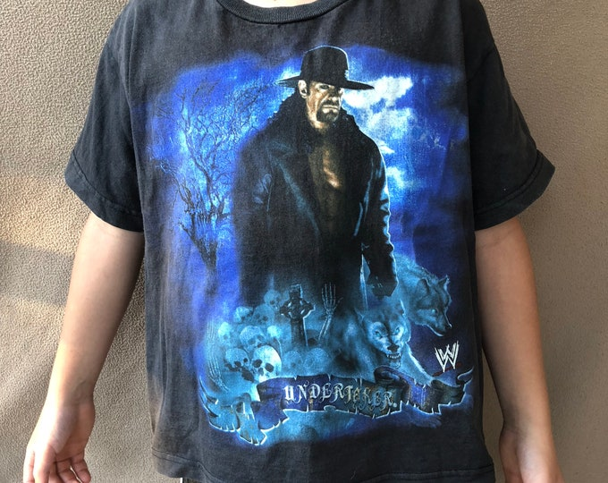 WWE The Undertaker (Kids Med) Kids clothes American Badass The Phenom NXT Wrestlemania Childrens clothes Tombstone Piledriver