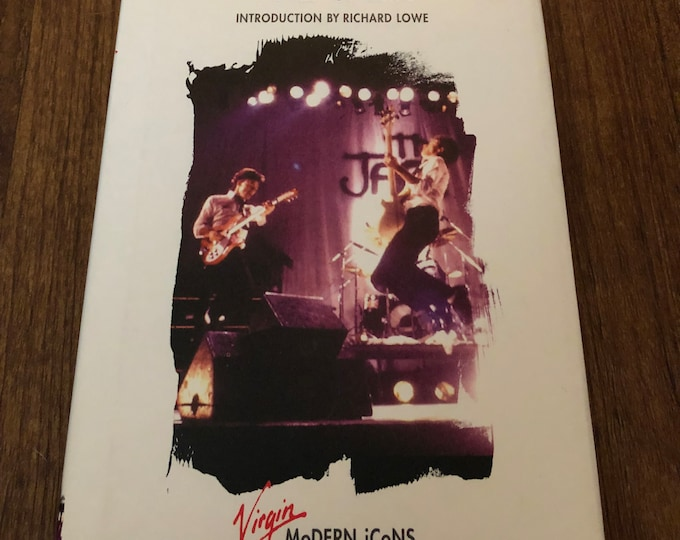 VINTAGE The Jam Paul Weller Virgin Modern Icons  Hardcover Book Buzzcocks Mods The Clash The Damned Joy Division Talking Heads Roxy Music