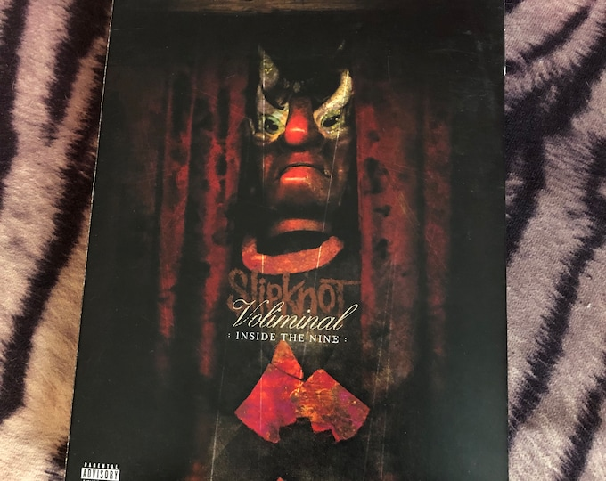 Slipknot 2 DVD Set Voliminal DVD Heavy Metal Metal Corey Taylor Stone Sour Metallica System Of A Down Rage Against The Machine Pantera Tool