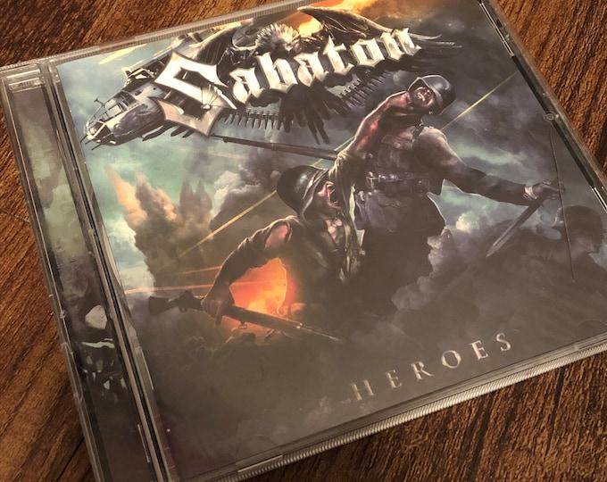 SABATON HEROES CD  Power Metal Powerwolf Amon Amarth Nightwish Kreator Hammerfall Blind Guardian Children Of Bodom Alestorm In Flames Epica