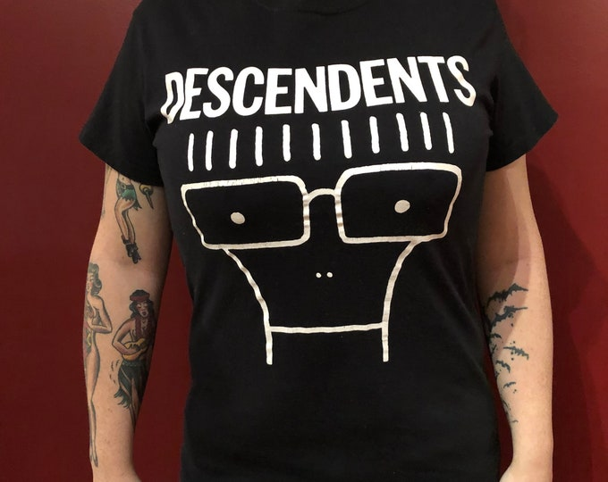 Punk Rock Descendents Milo (Med) Tour Shirt Punk Fat Mike SkatePunk  Hardcore Youth Brigade DOA Dayglo Abortions SNFU Oi NOFX Propagandhi